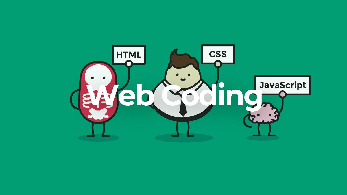 웹 코딩 강좌 - HTML, CSS, JS