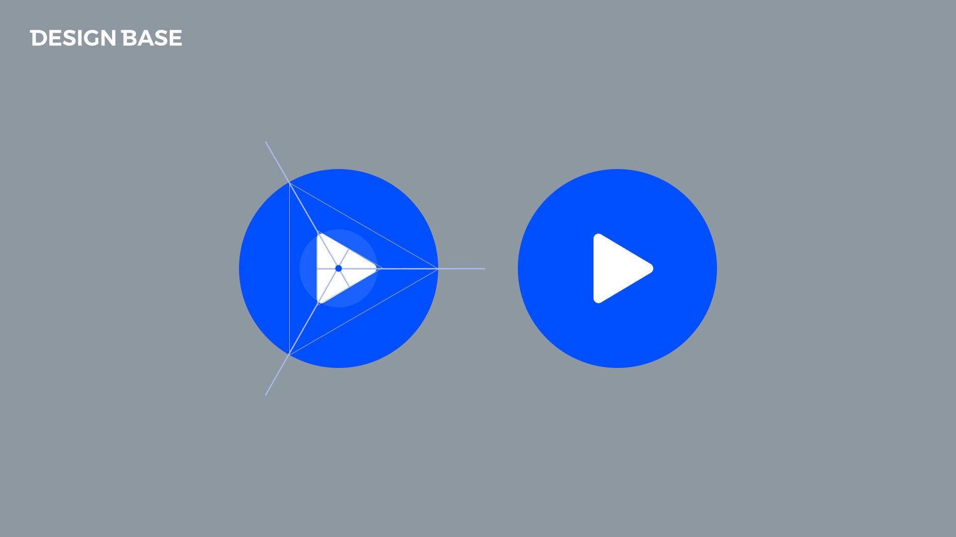 재생버튼 삼각형 중앙 정렬하는 방법